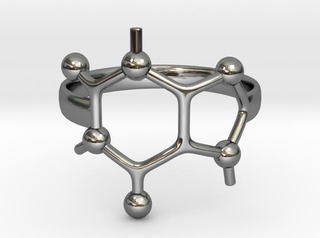 Caffeine Molecule ring - size 6