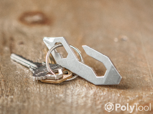 PolyTool Classic in Polished Bronzed Silver Steel