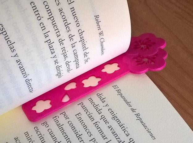 Sakura Bookmark Model A in Pink Strong & Flexible Polished