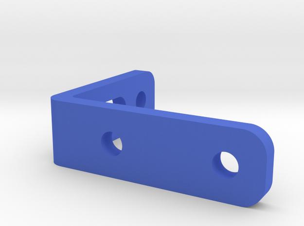 PureThermal 1 Stand - Part 3/3 in Blue Processed Versatile Plastic