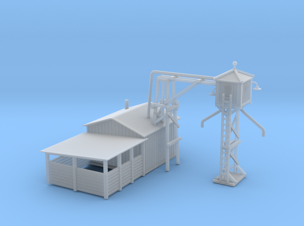 Railroad Sand Tower 3d printed Railroad Sand Tower Z scale