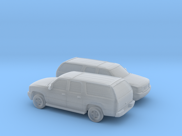 1/160 2X 2000-06 GMC Yukon in Smooth Fine Detail Plastic
