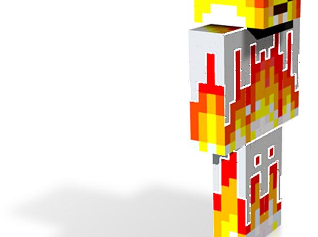 6cm | PixelatedFlames 3d printed