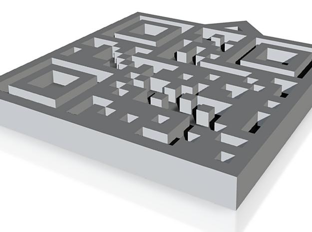 QRCode -- Debora 3d printed