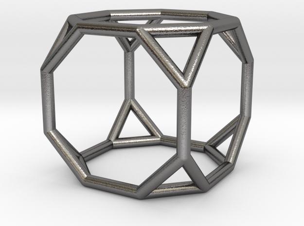 0271 Truncated Cube E (a=1cm) #001