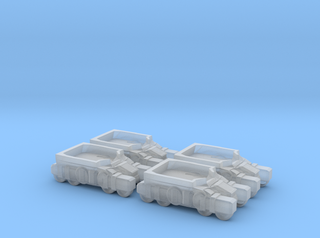 Light Assault Walker Transport Truck Platoon 6mm E in Smooth Fine Detail Plastic