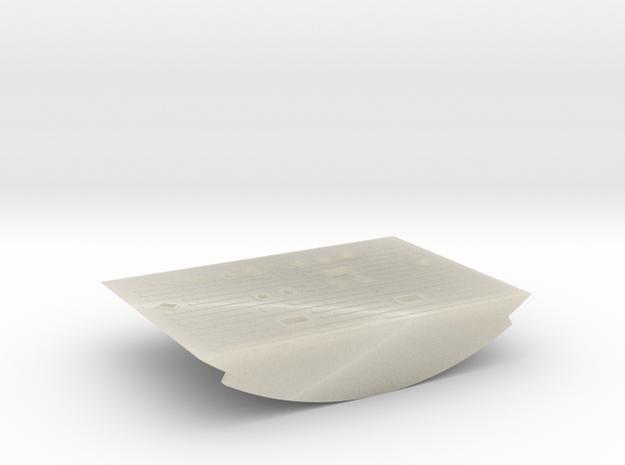 F13-Floor in White Acrylic