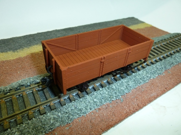 WAGR GC Wagon (molded barings) 3d printed Early print of Expected resolution with FD
