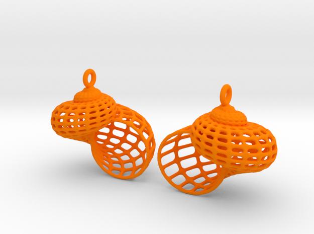 Kai3 Wa in Orange Processed Versatile Plastic