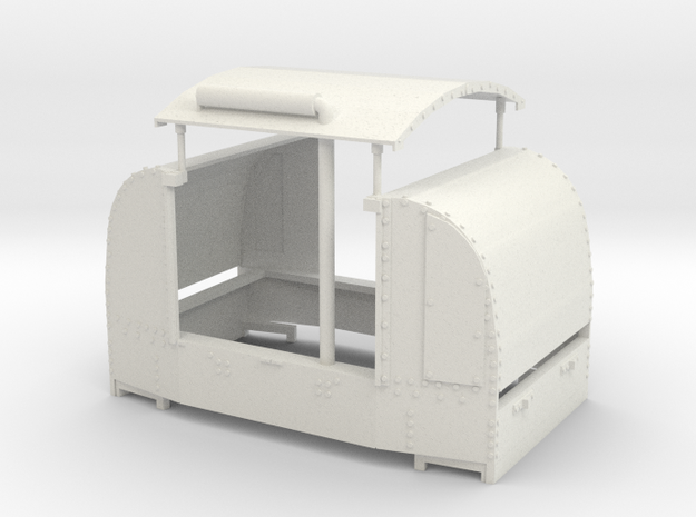 A-1-19-open-simplex in White Natural Versatile Plastic