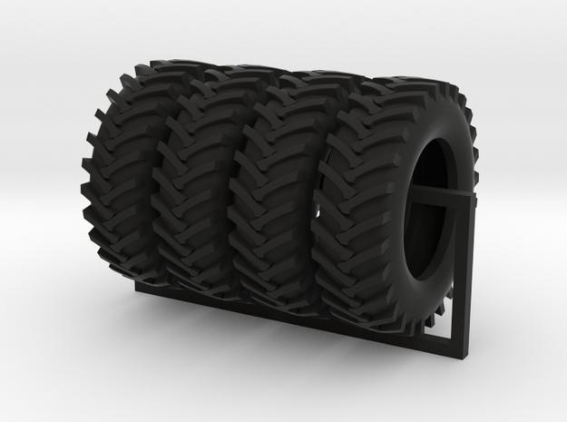 1/64 scale 20.8-38 R1 x 4 in Black Natural Versatile Plastic