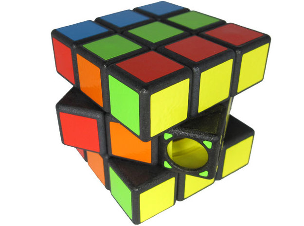 Incomprehensible Cube 3d printed