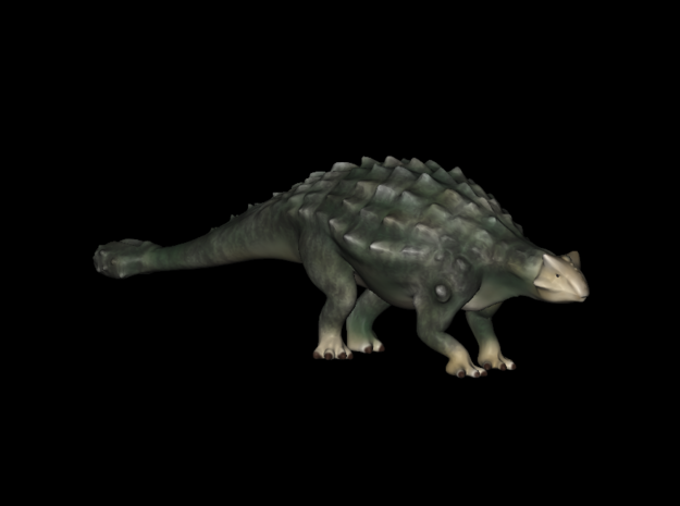 Replica Dinosaurs Ankylosaurus Full Color  in Full Color Sandstone