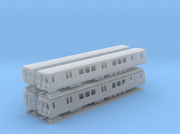 N Scale Washington DC Metro 7000 (4)