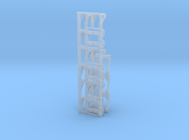 LIMA Light and horn brush guard set  3d printed