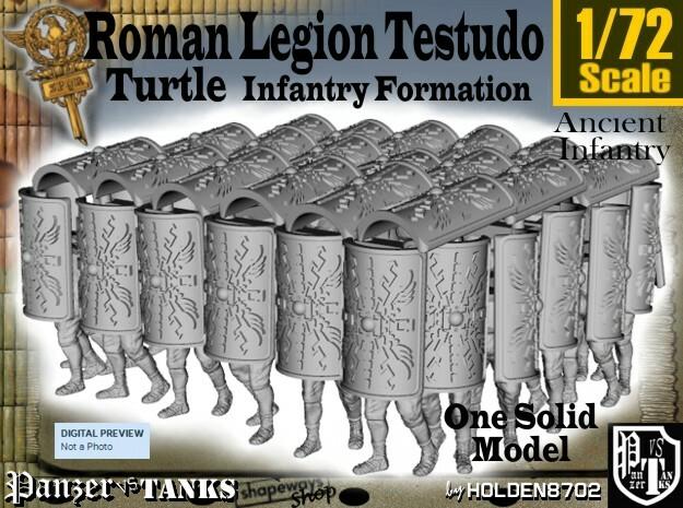 1-72 Roman Testudo