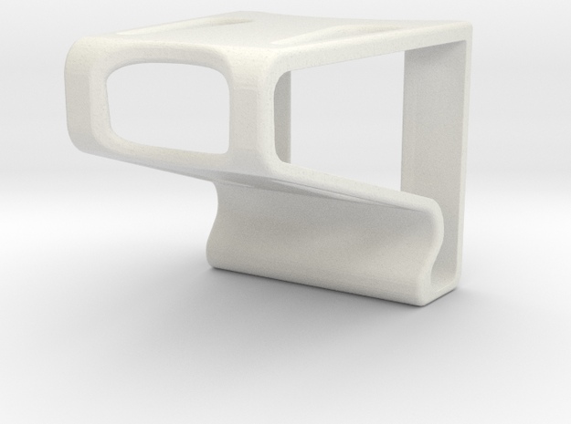 Phone Holder Economy in White Natural Versatile Plastic