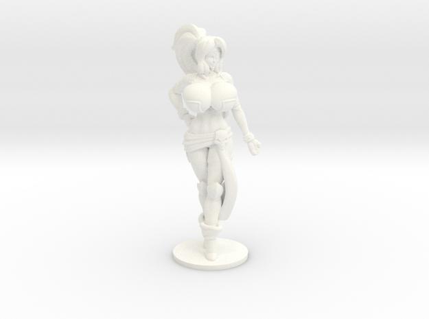 Veronika Red RPG 36mm Mini in White Processed Versatile Plastic