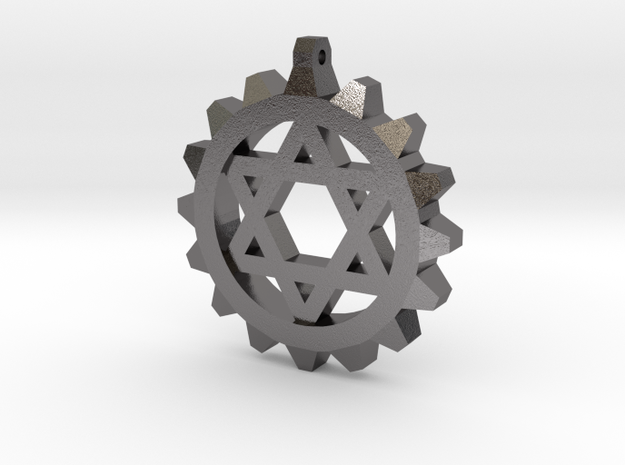 Gear Star of David 3d printed