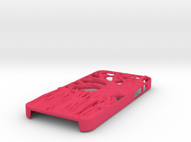 Iphone 5 Case - Tree with Cattails 3d printed