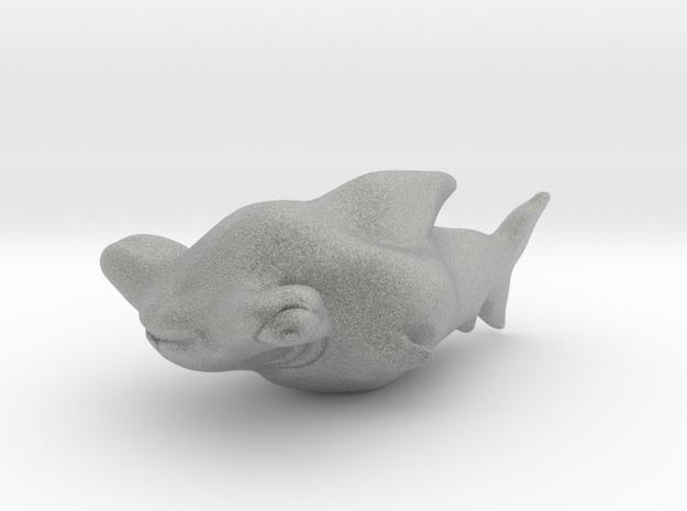 Sharky in Metallic Plastic