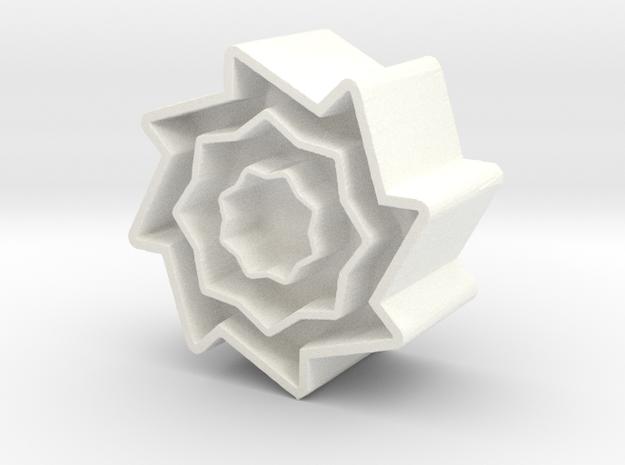 Ball #5 in White Processed Versatile Plastic