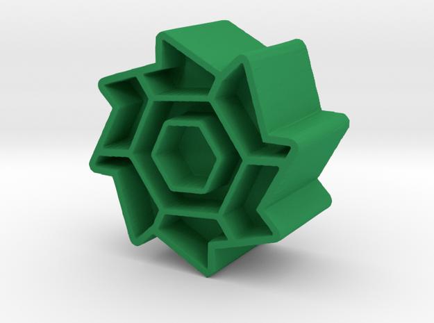 Ball #8 in Green Processed Versatile Plastic