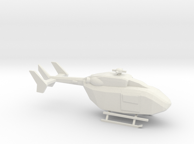 10mm (1/144) UH-72A in White Strong & Flexible