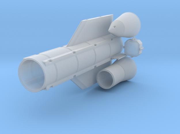 MOAB (1/72 GBU-43/B Massive Ordnance Air Blast) in Smooth Fine Detail Plastic