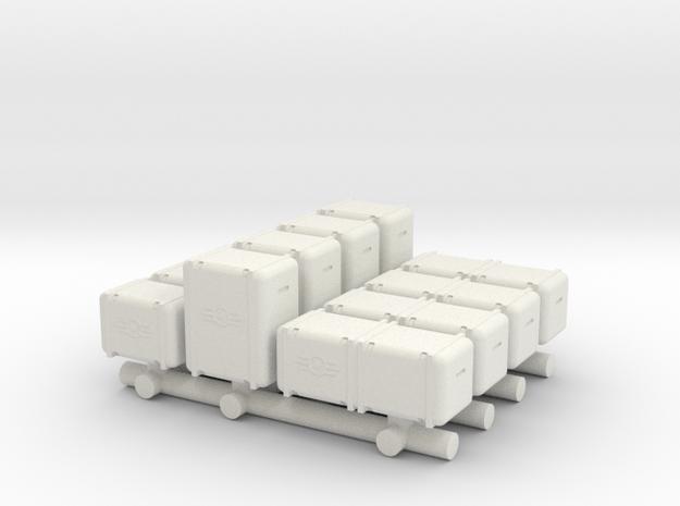 Bunker-Tec Sampler Pack in White Strong & Flexible