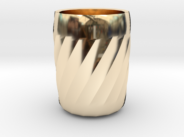 My coffee cup in 14K Gold