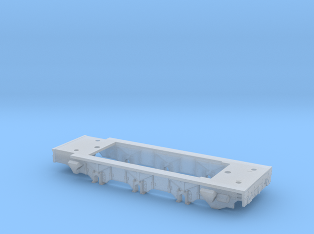 N Class 08 Chassis in Smooth Fine Detail Plastic