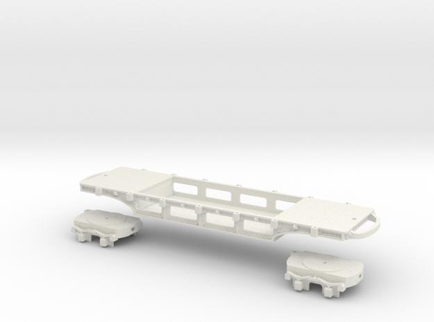 A-1-32-pechot-platform-wagon1b-plus in White Natural Versatile Plastic