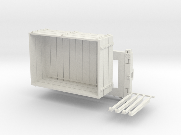 A-1-32-wdlr-a-class-open-fold-side-ends-wagon1c in White Natural Versatile Plastic