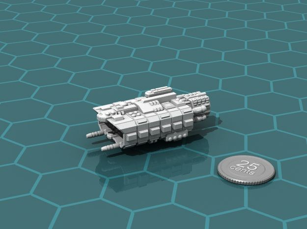 Factory Ship in White Strong & Flexible
