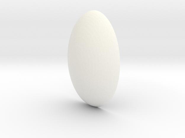 Steven Universe - Gem - Pearl in White Processed Versatile Plastic