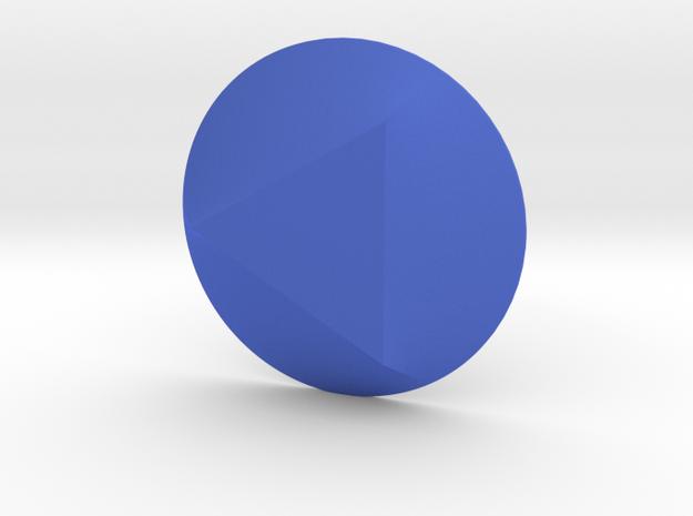 Steven Universe - Gem - Sapphire in Blue Processed Versatile Plastic