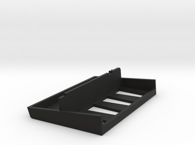 Battery Cover Rechargable Cells Pt2 in Black Natural Versatile Plastic