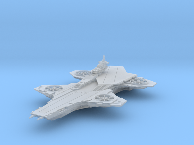 Hellicarrier - 75mm [Solid] in Smoothest Fine Detail Plastic