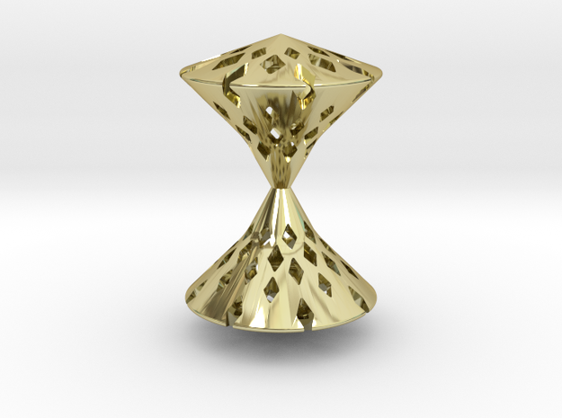 TimeLess  Pendant  in 18K Gold Plated
