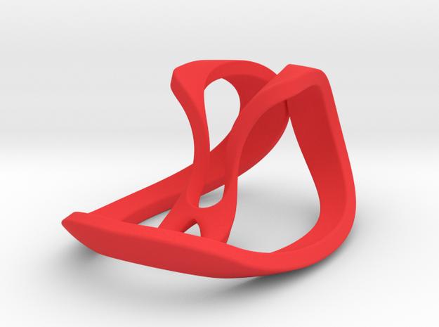 016 NECKLACE in Red Processed Versatile Plastic