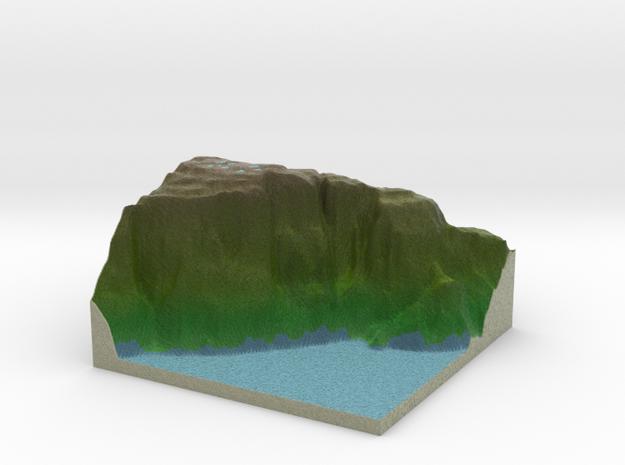 Terrafab generated model Mon Dec 21 2015 21:30:47  in Full Color Sandstone