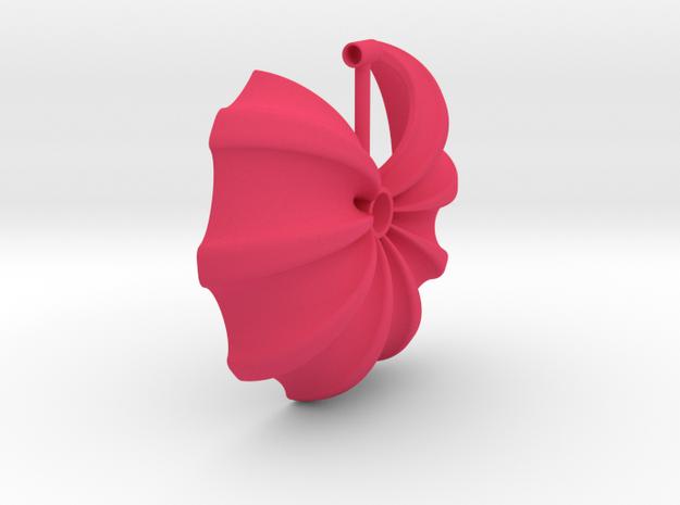 017 NECKLACE in Pink Processed Versatile Plastic