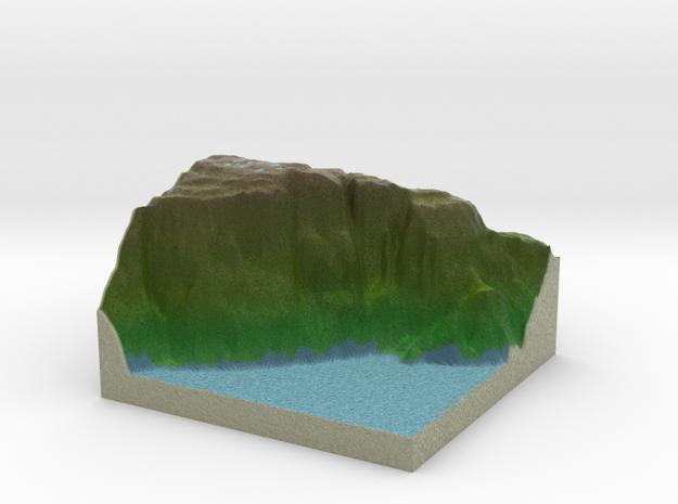 Terrafab generated model Mon Dec 21 2015 21:51:59  in Full Color Sandstone