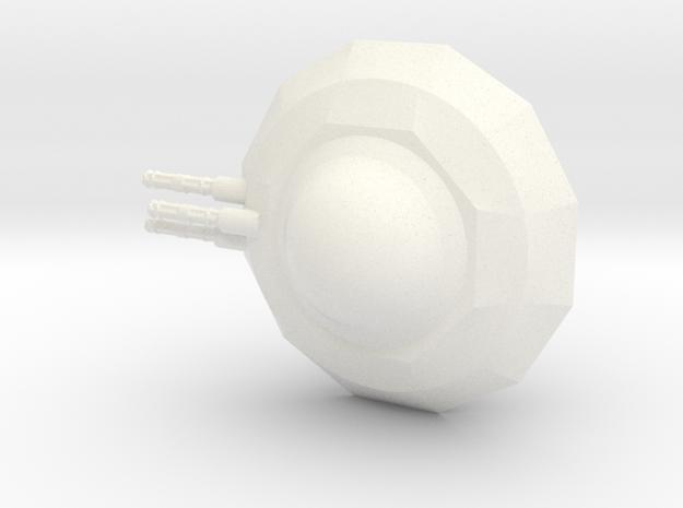 Ufo Alfa in White Processed Versatile Plastic