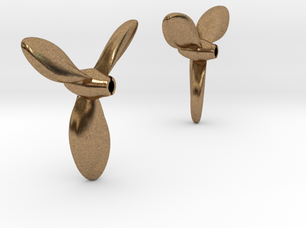 1/72 H-Class Submarine Propellers in Natural Brass
