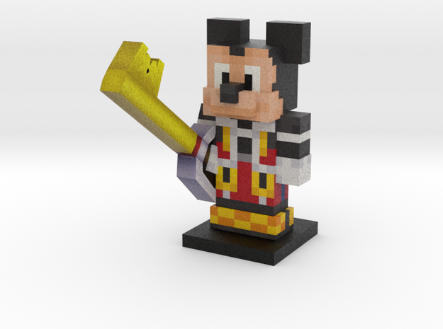 KH2 Mickey in Full Color Sandstone