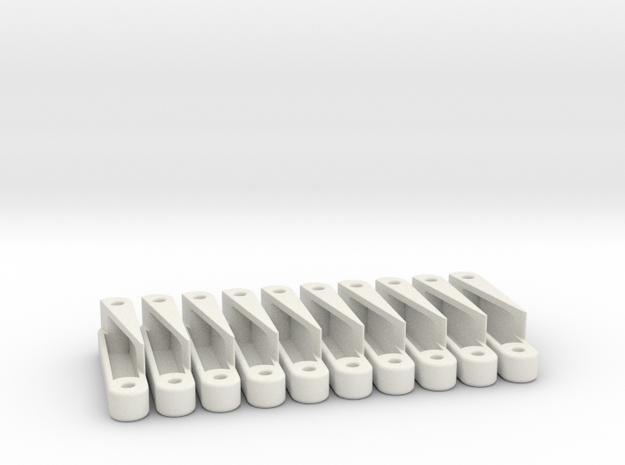 Posterior Cruciate Ligament in White Natural Versatile Plastic
