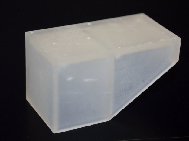 HO-Scale UP 4-6-2 Oil Bunker in Smooth Fine Detail Plastic