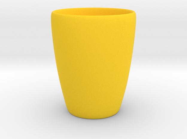 Coffee mug #1 - Inner ear in Yellow Processed Versatile Plastic